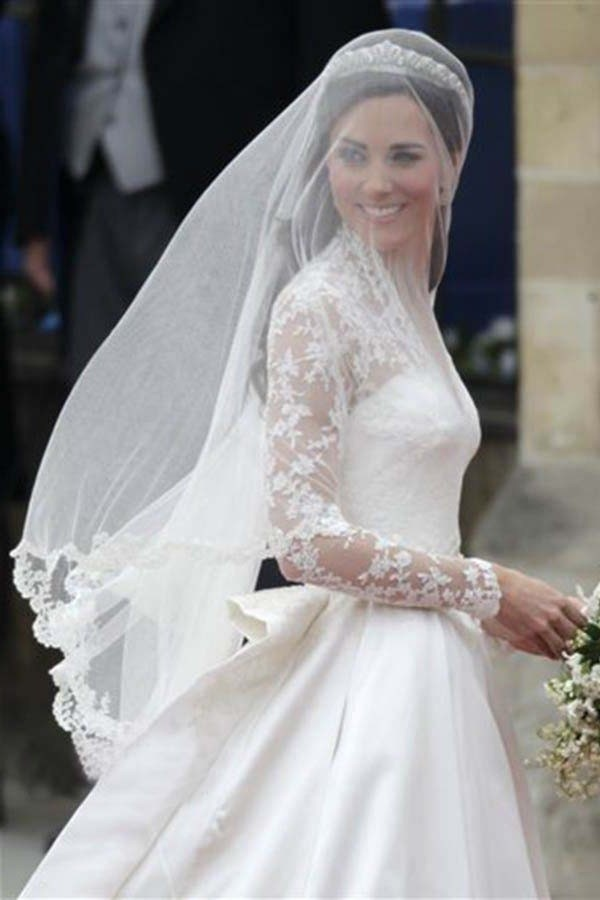 Wedding Veil Simple Wedding Dress