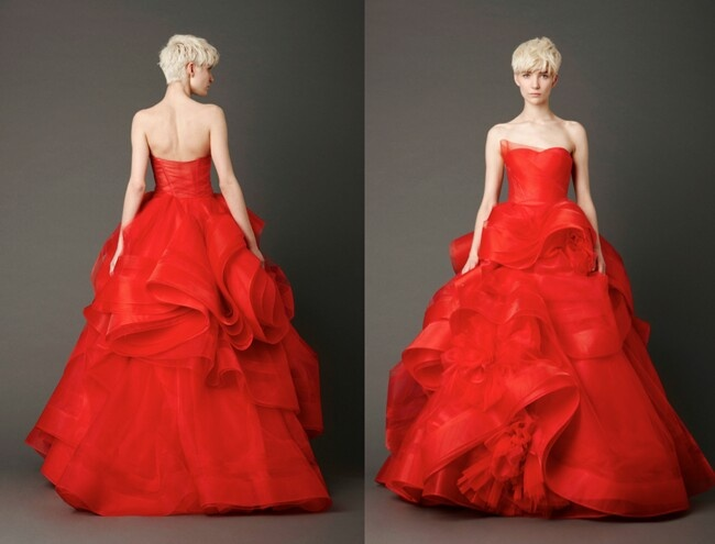 Do you want a red wedding dress simple wedding dress for Simple red wedding dresses